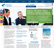 Demand Management website history