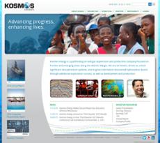 Kosmos website history