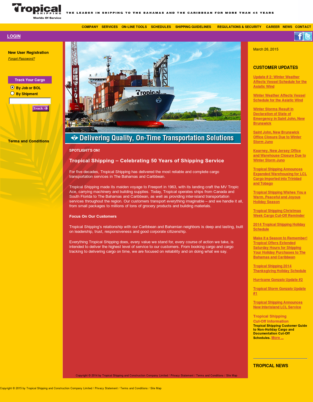 Tropical Shipping Competitors, Revenue and Employees - Owler