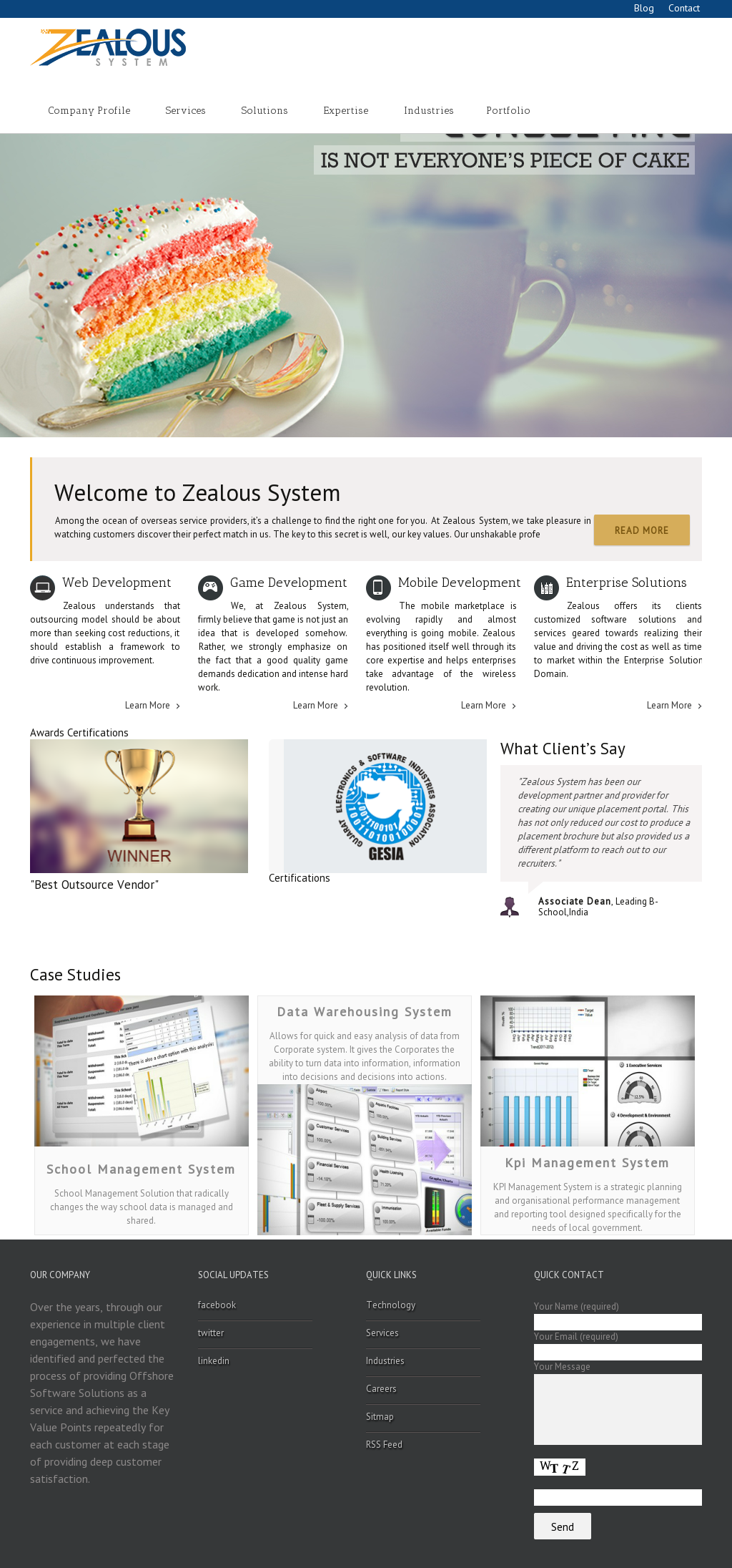Zealous System Competitors, Revenue and Employees - Owler