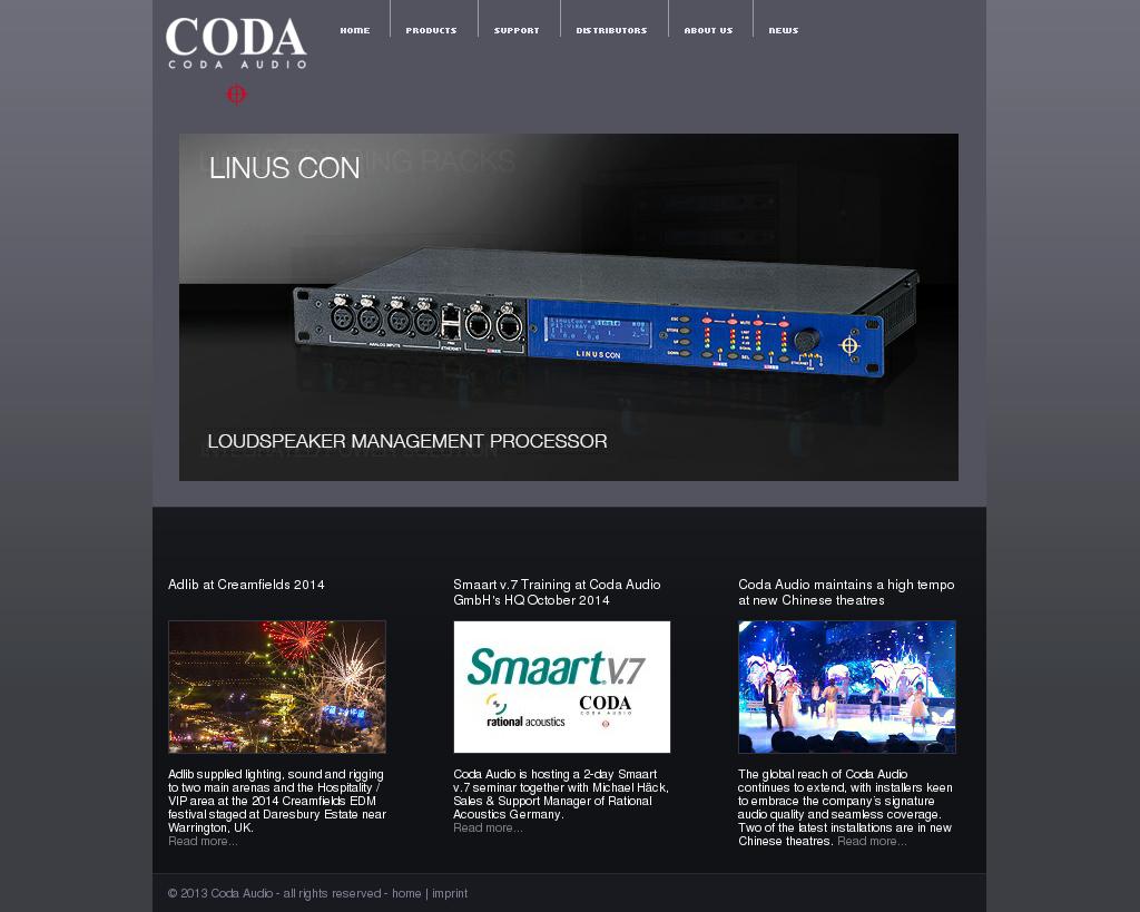 Coda Audio Competitors, Revenue and Employees - Owler