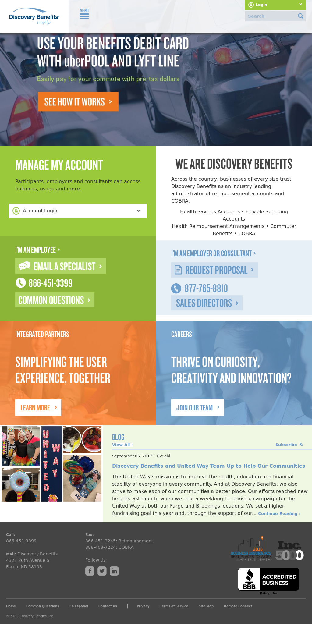 Discovery Benefits Competitors, Revenue and Employees