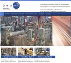 QuantumSphere website history