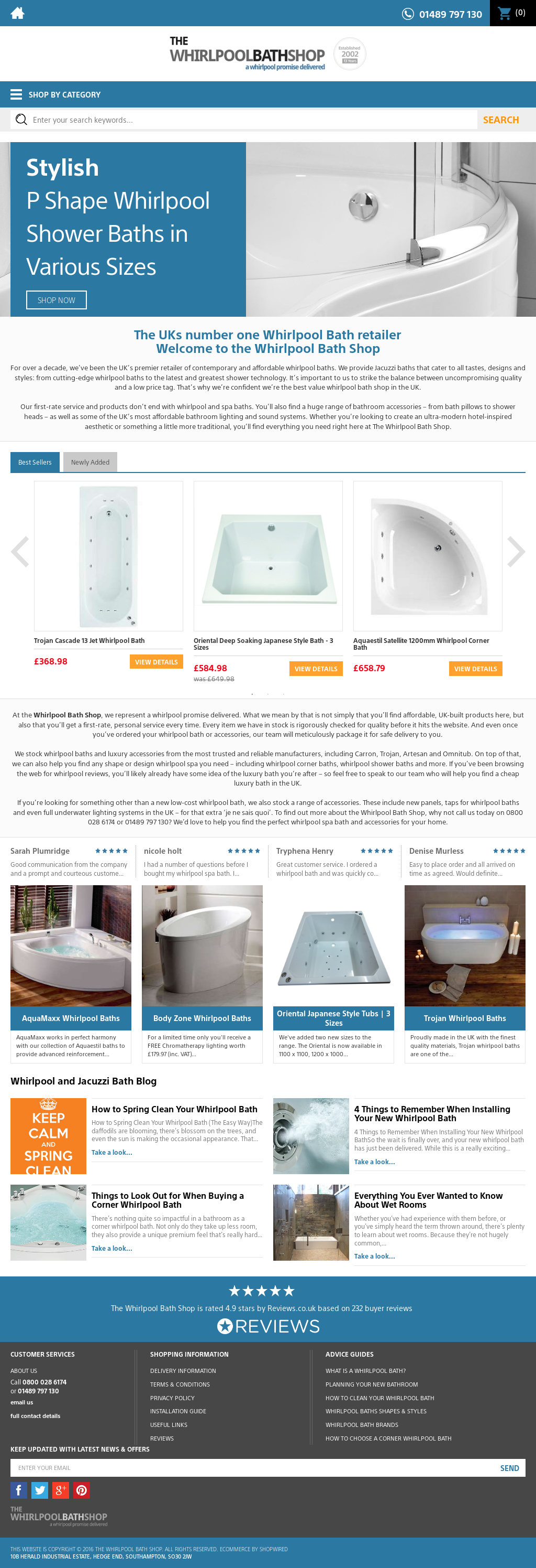 Whirlpool Bath Shop Competitors, Revenue and Employees - Owler ...