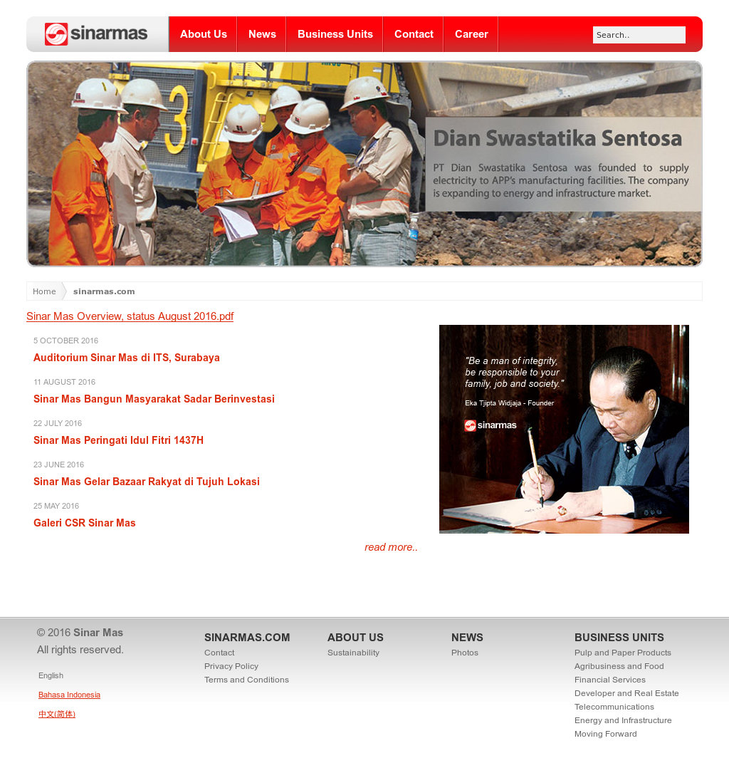 Sinar Mas Competitors, Revenue and Employees - Owler Company