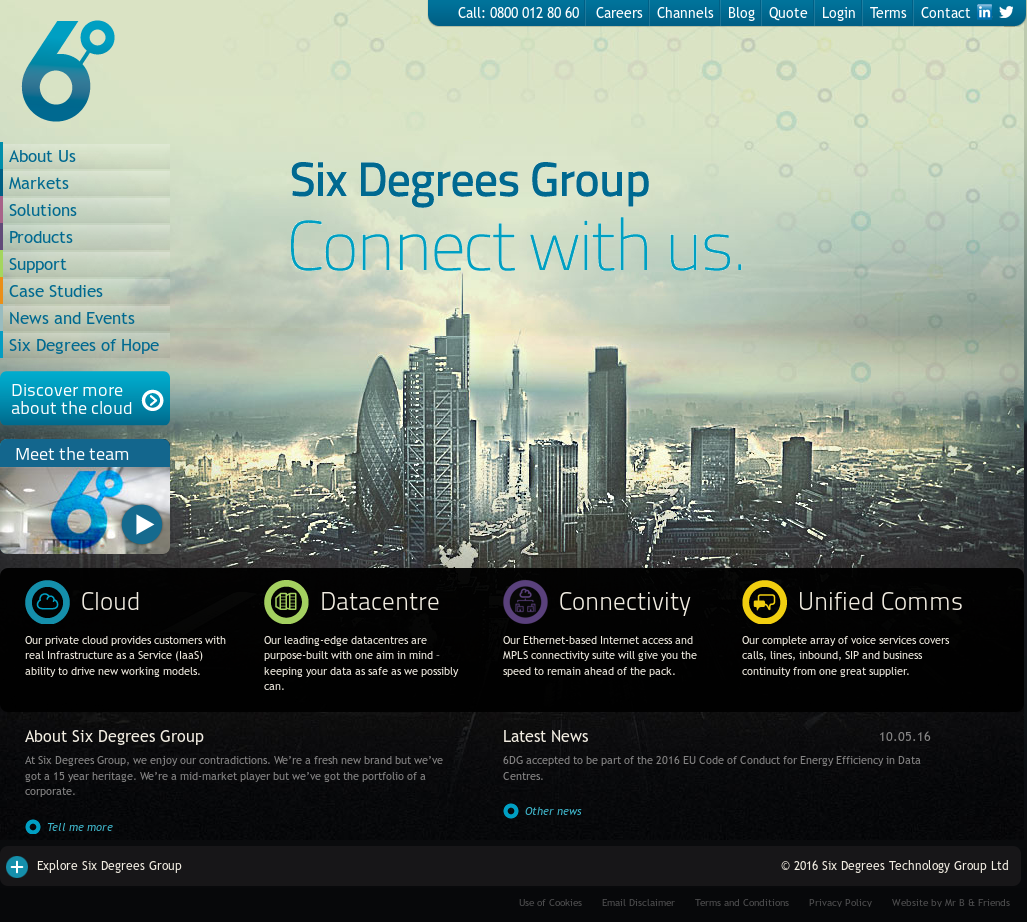 Owler Reports - Press Release: Six Degrees Group : Six