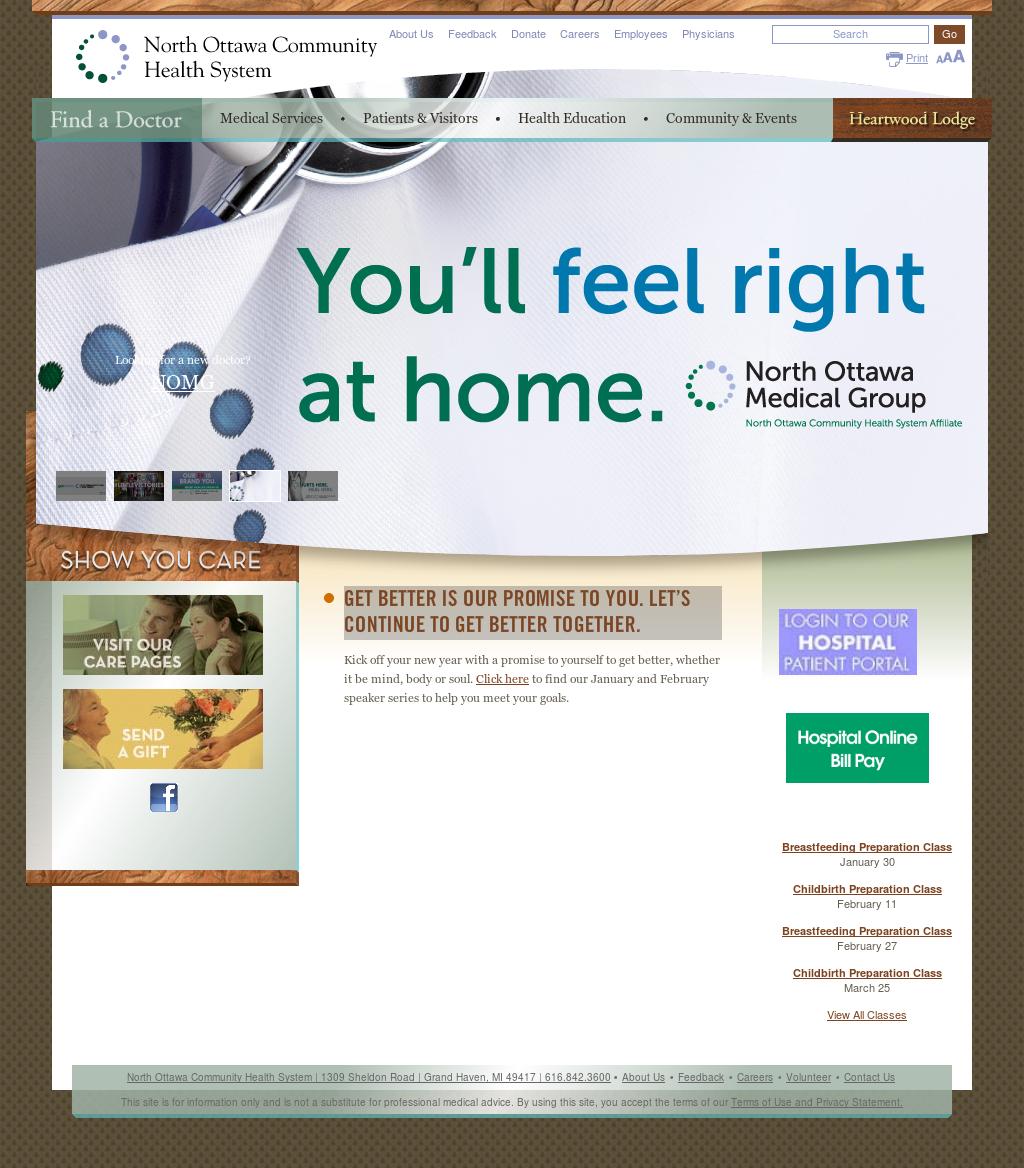 north ottawa community health system