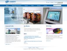 AMEC website history