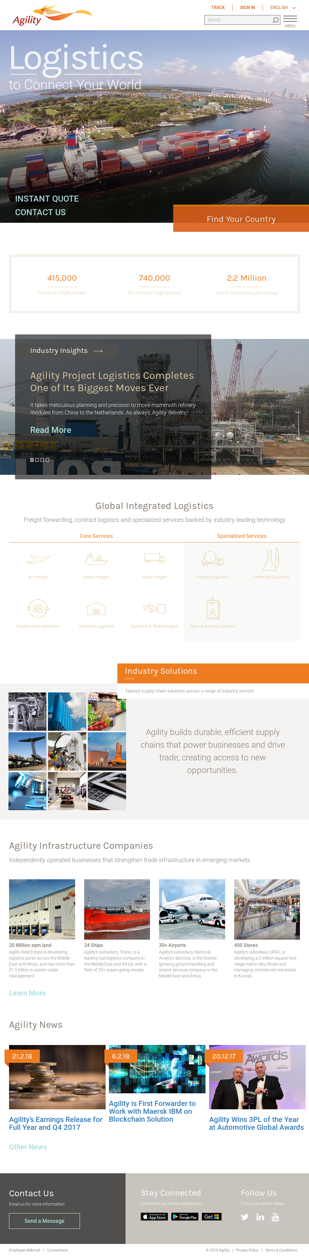 Owler Reports - Agility Blog Shipa Freight Named