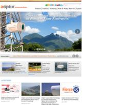 AOptix website history