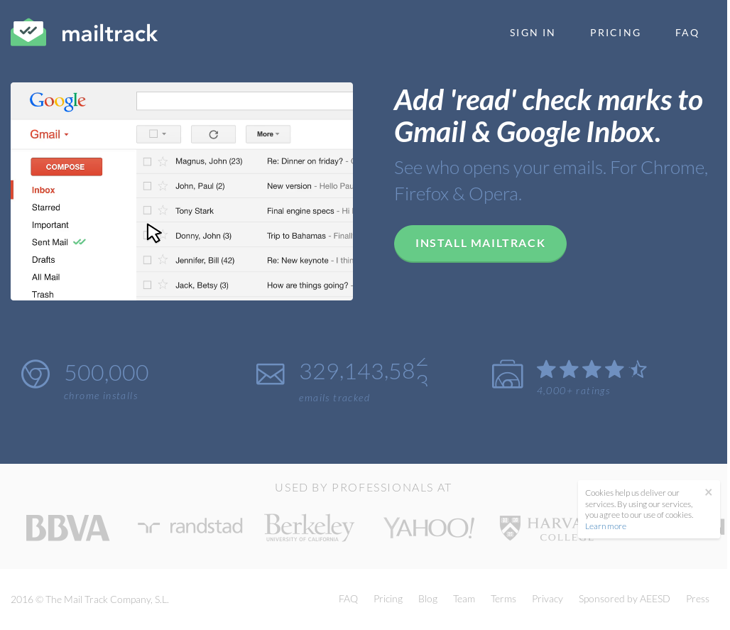 MailTrack Competitors, Revenue and Employees - Owler Company
