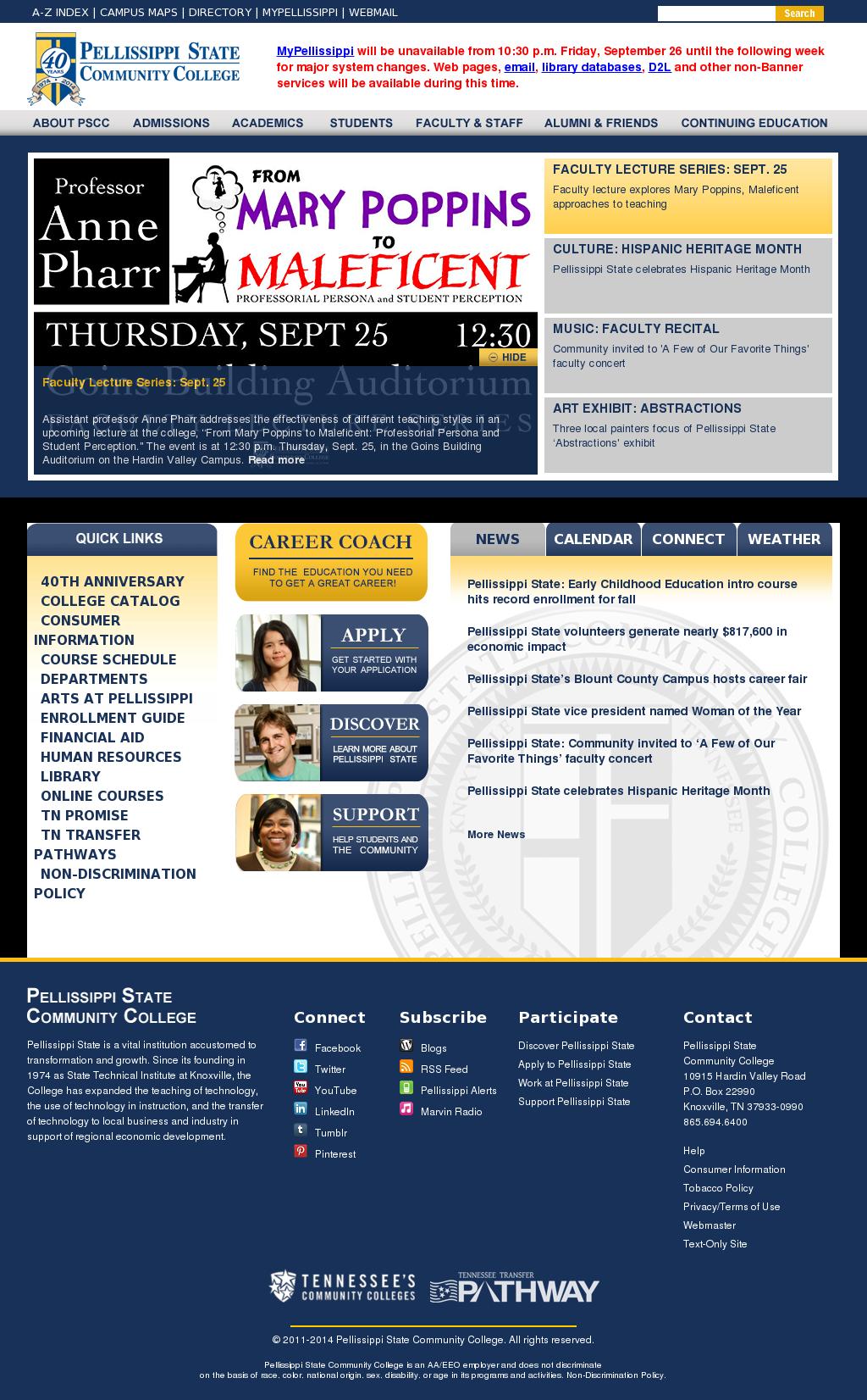 Pellissippi Campus Map.Pellissippi State Community College Competitors Revenue And