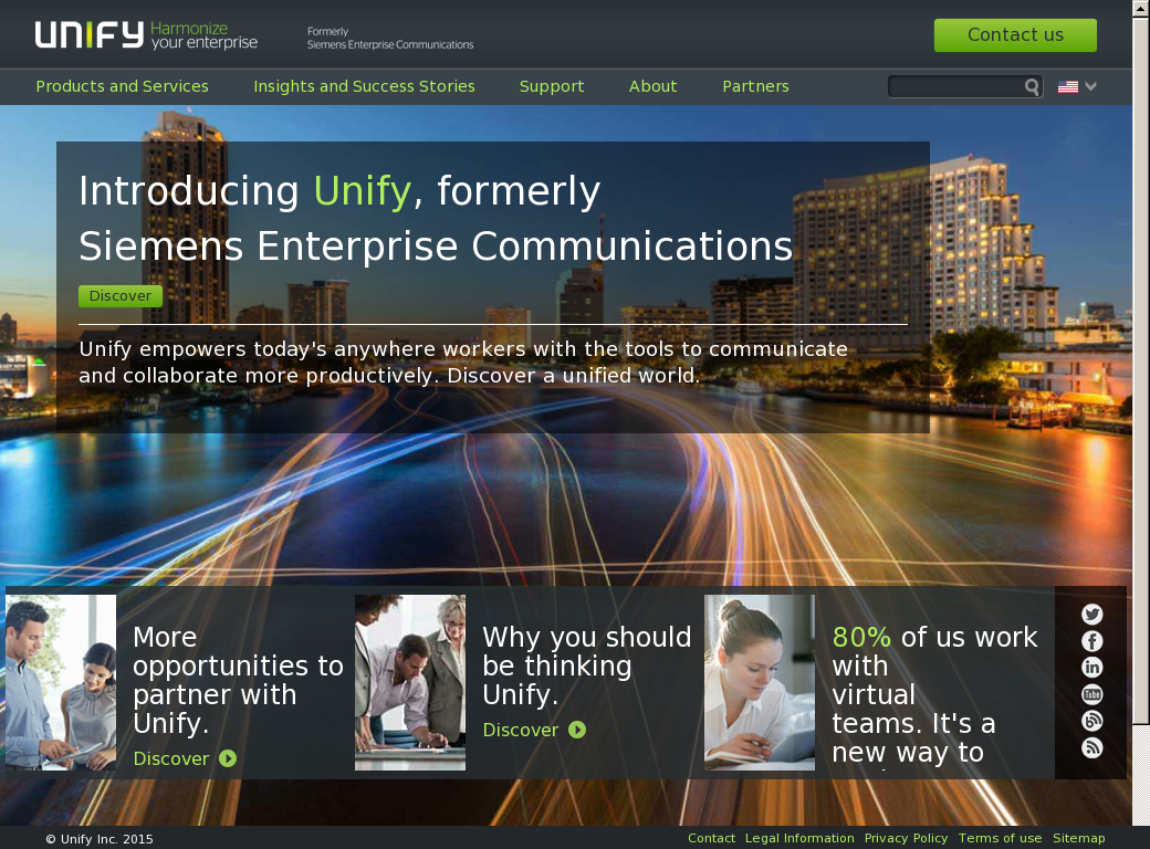 Unify Competitors, Revenue and Employees - Owler Company Profile