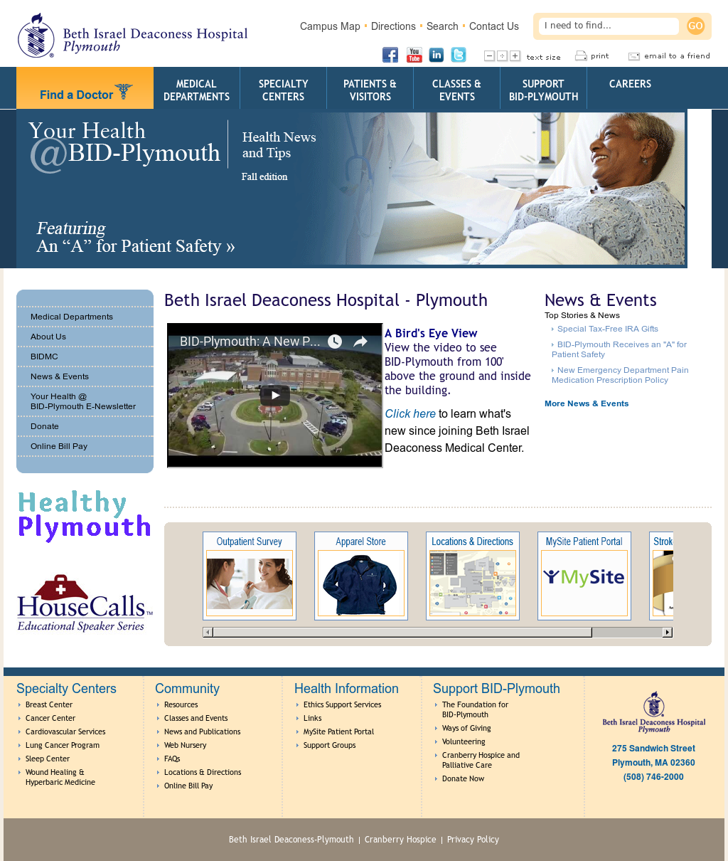 Beth Israel Deaconess Plymouth Competitors Revenue And Employees Owler Company Profile