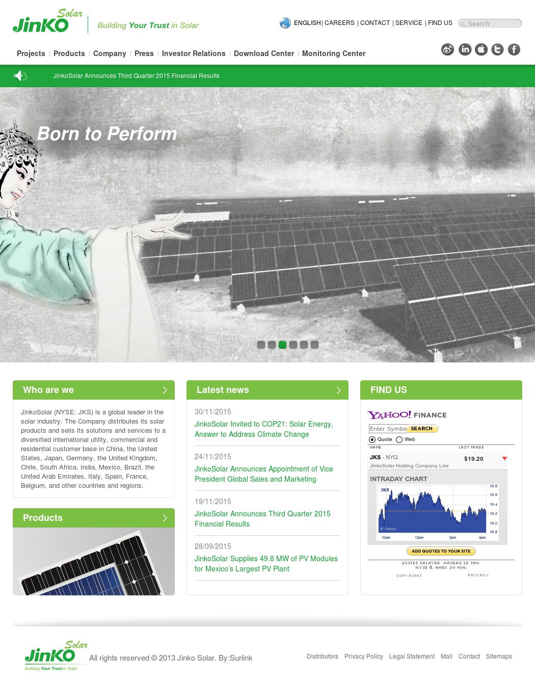 JinkoSolar Competitors, Revenue and Employees - Owler Company Profile