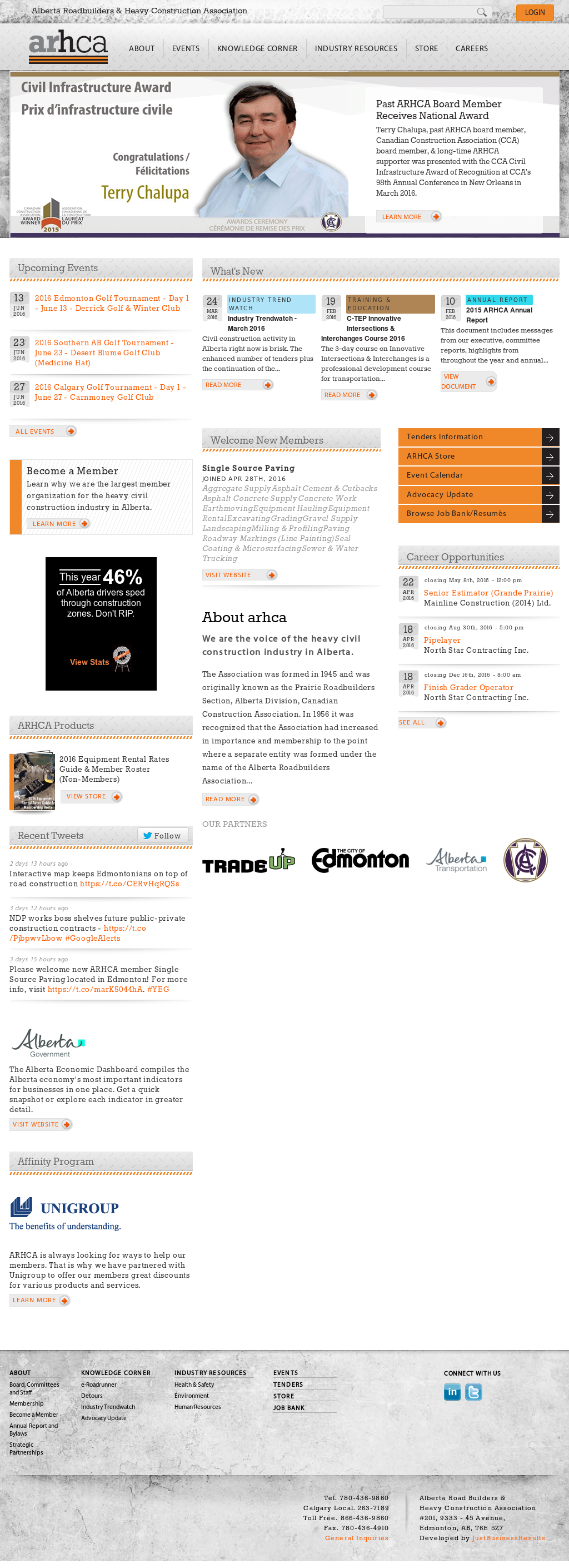 Owler Reports - Press Release: Arhca : MP Dreeshen Highlights Benefits of  the New Building Canada Plan for Alberta