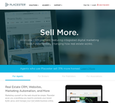 Placester website history