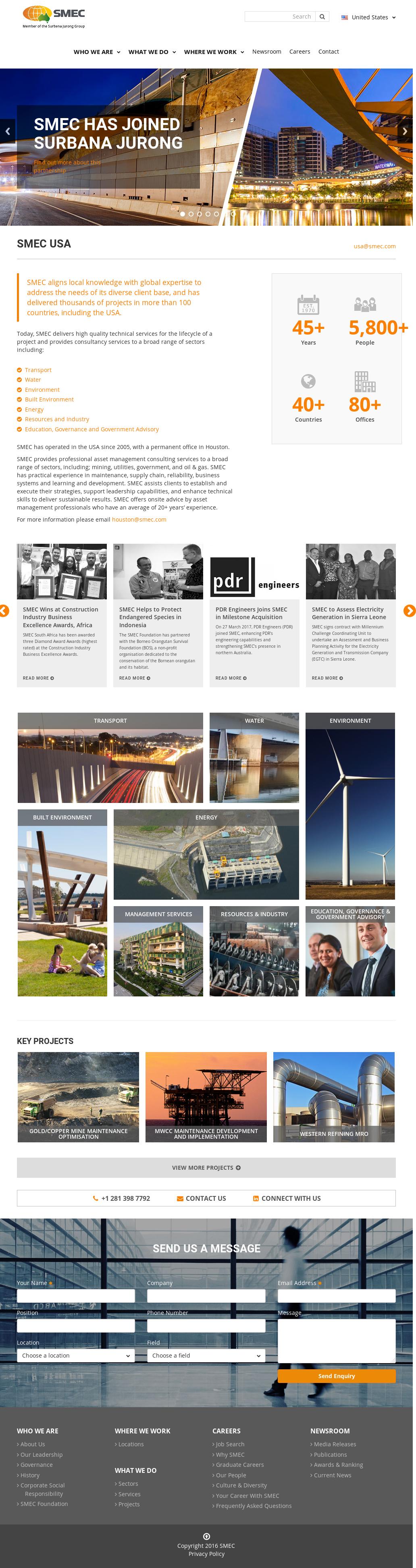 SMEC Competitors, Revenue and Employees - Owler Company Profile