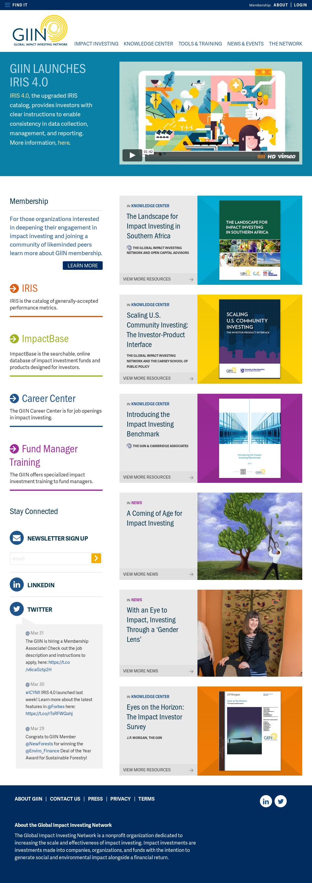 GIIN Competitors, Revenue and Employees - Owler Company Profile