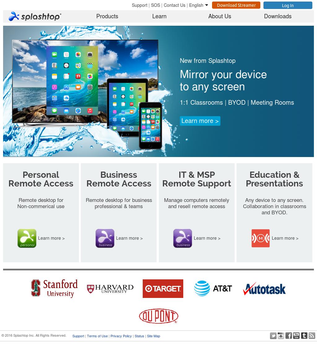 Splashtop Competitors, Revenue and Employees - Owler Company Profile