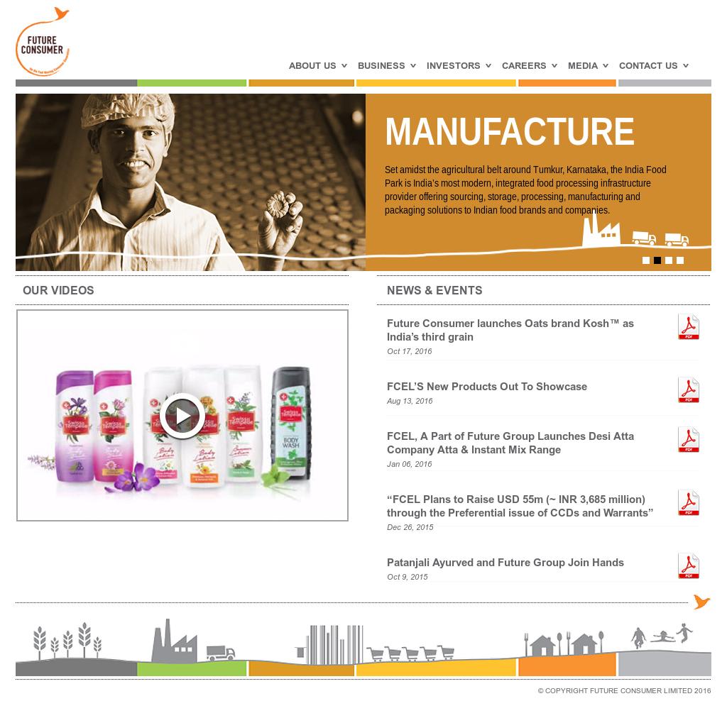 Future Consumer Enterprise Competitors, Revenue and