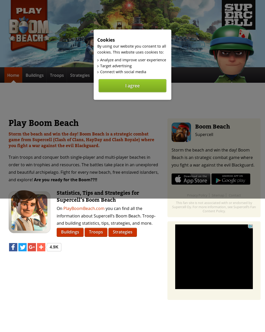play boom beach online