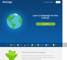 Duolingo website history