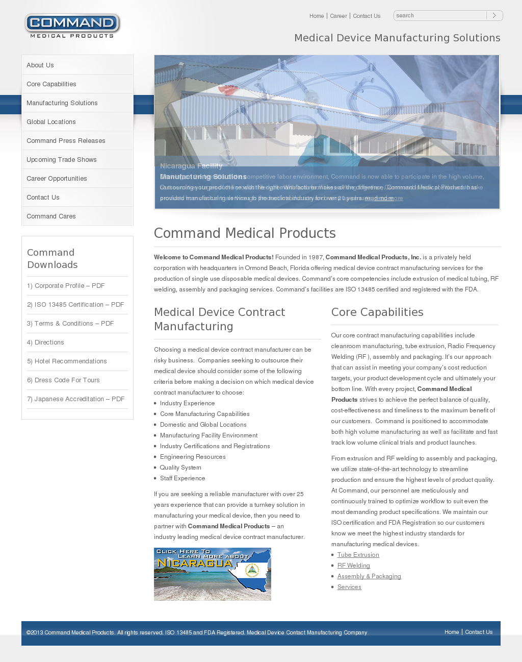 Command Medical Products Competitors, Revenue and Employees
