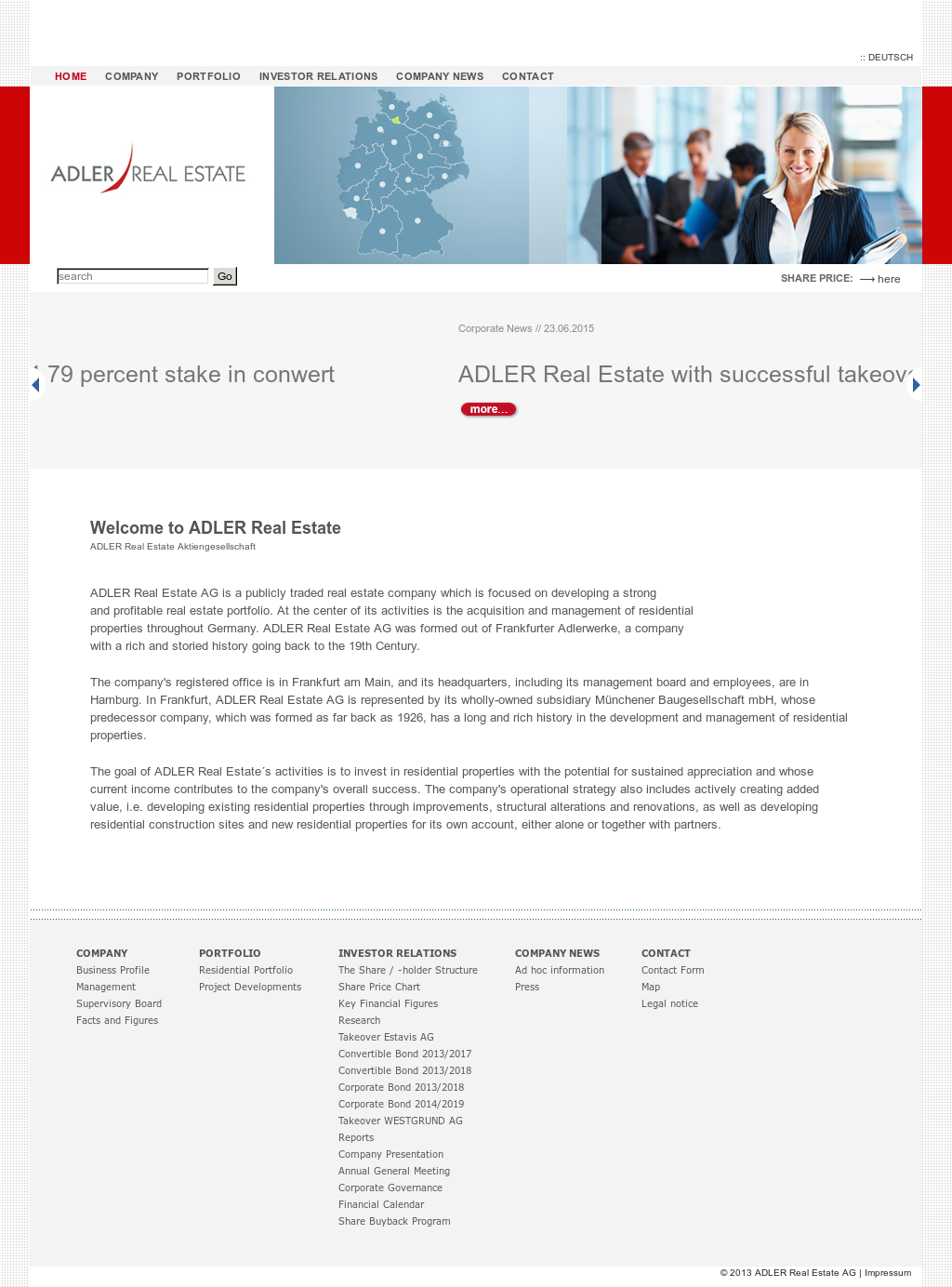 ADLER Real Estate Competitors, Revenue and Employees - Owler