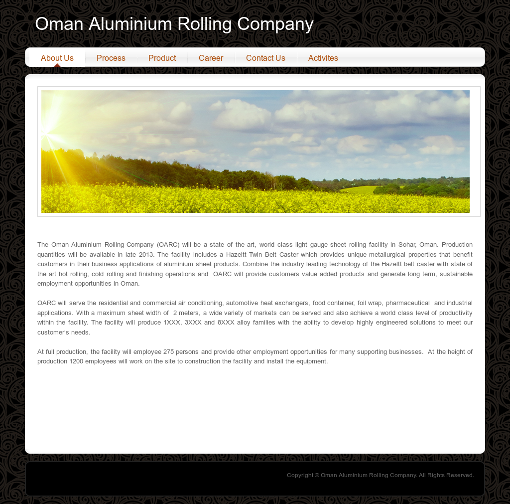 Oman Aluminium Rolling Company Competitors, Revenue and