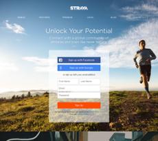 Strava website history