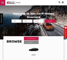 Ken Garff Nissan Riverdale Website History