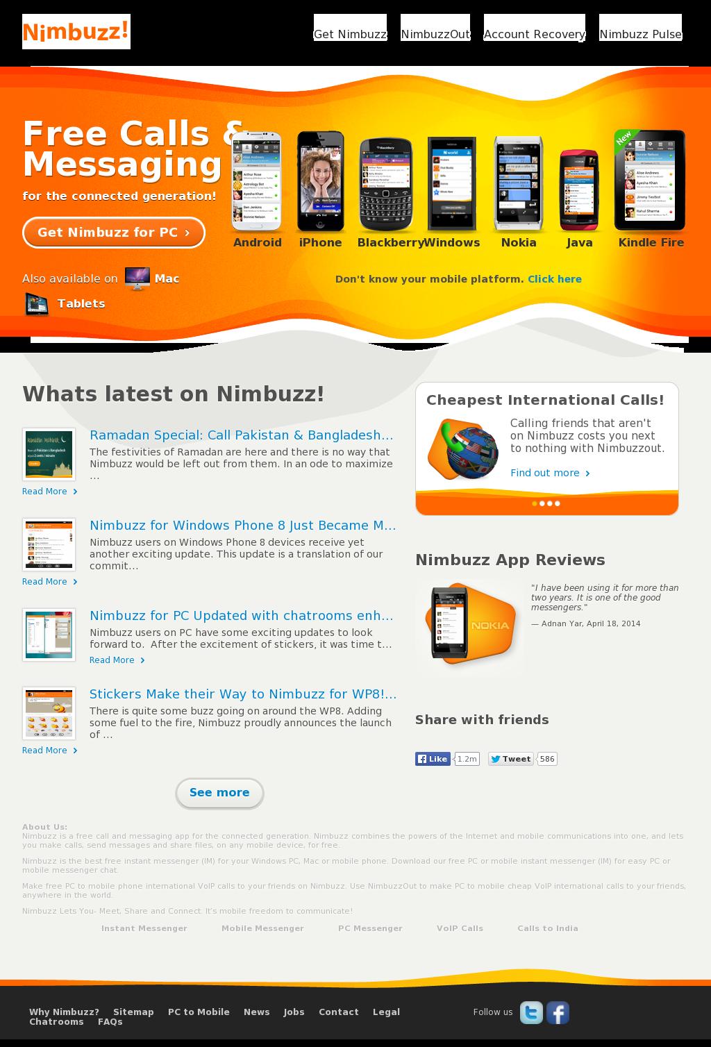 Nimbuzz Competitors, Revenue and Employees - Owler Company