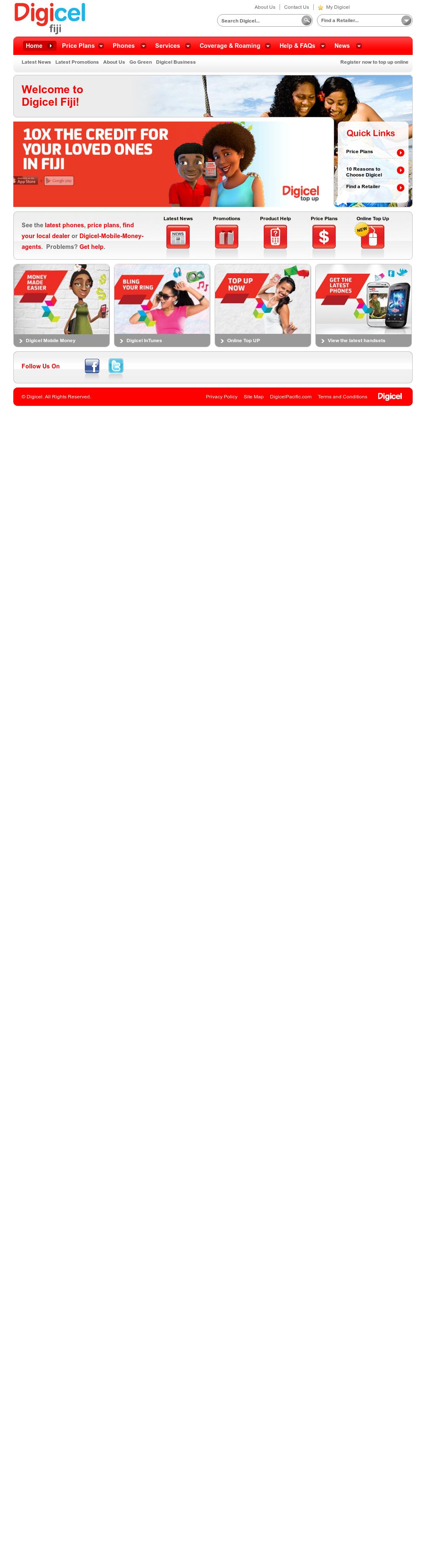 Owler Reports - Digicel Fiji: Digicel Fiji upgrades Double