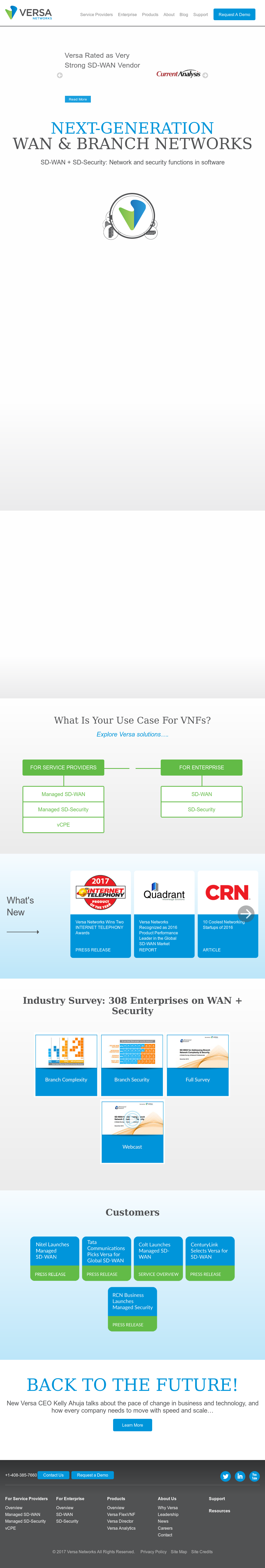 Versa Networks Competitors, Revenue and Employees - Owler