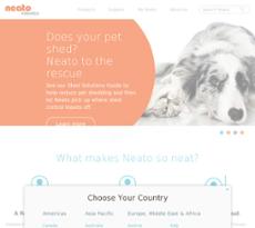Neato Robotics website history