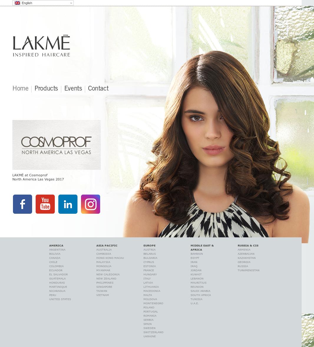 Lakme cosmetics company profile