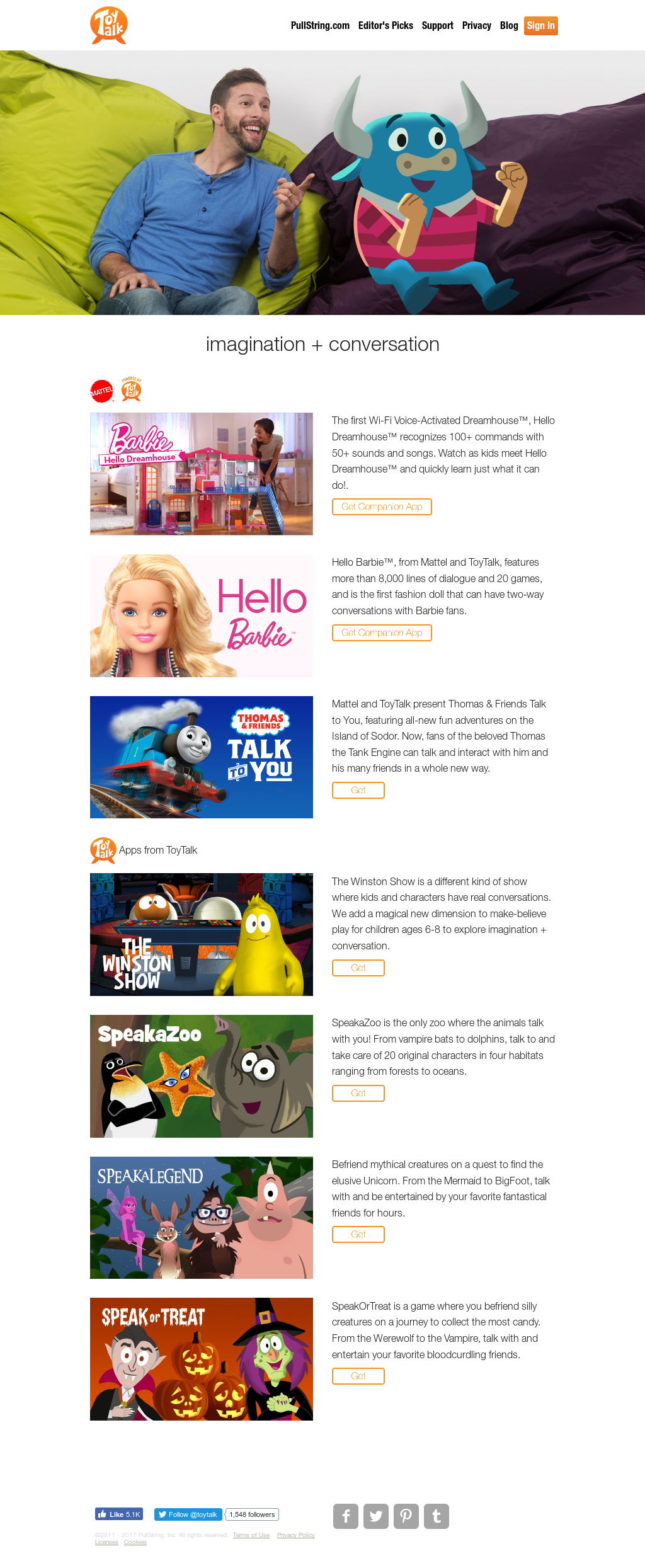 Toytalk Competitors, Revenue and Employees - Owler Company Profile