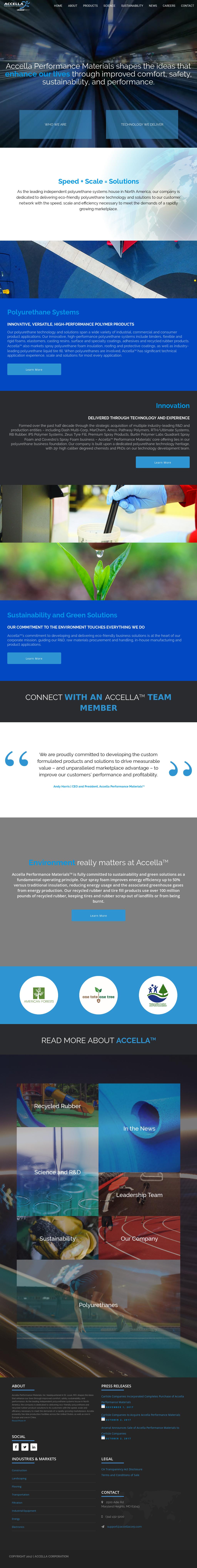 Accella Performance Materials Competitors, Revenue and