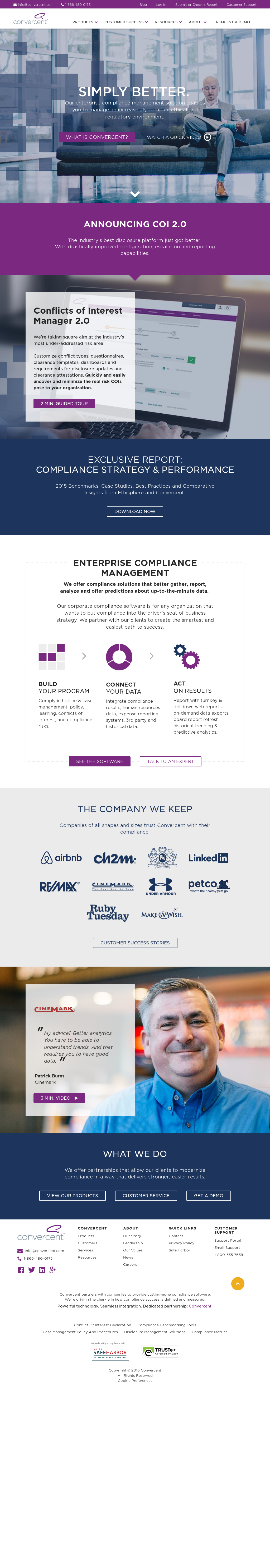 Convercent Competitors, Revenue and Employees - Owler
