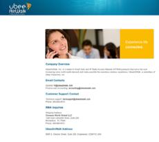 UbeeAirWalk website history