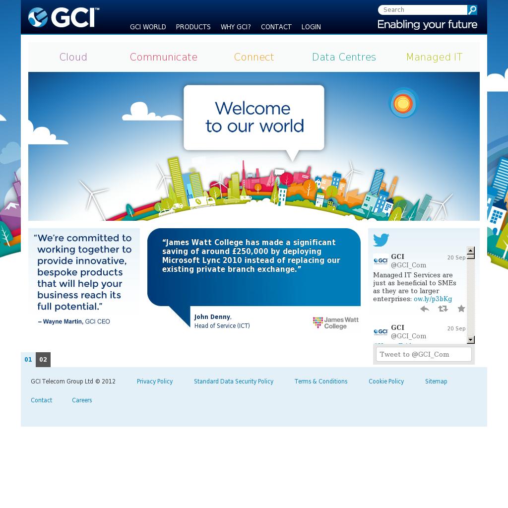 GCI Competitors, Revenue and Employees - Owler Company Profile