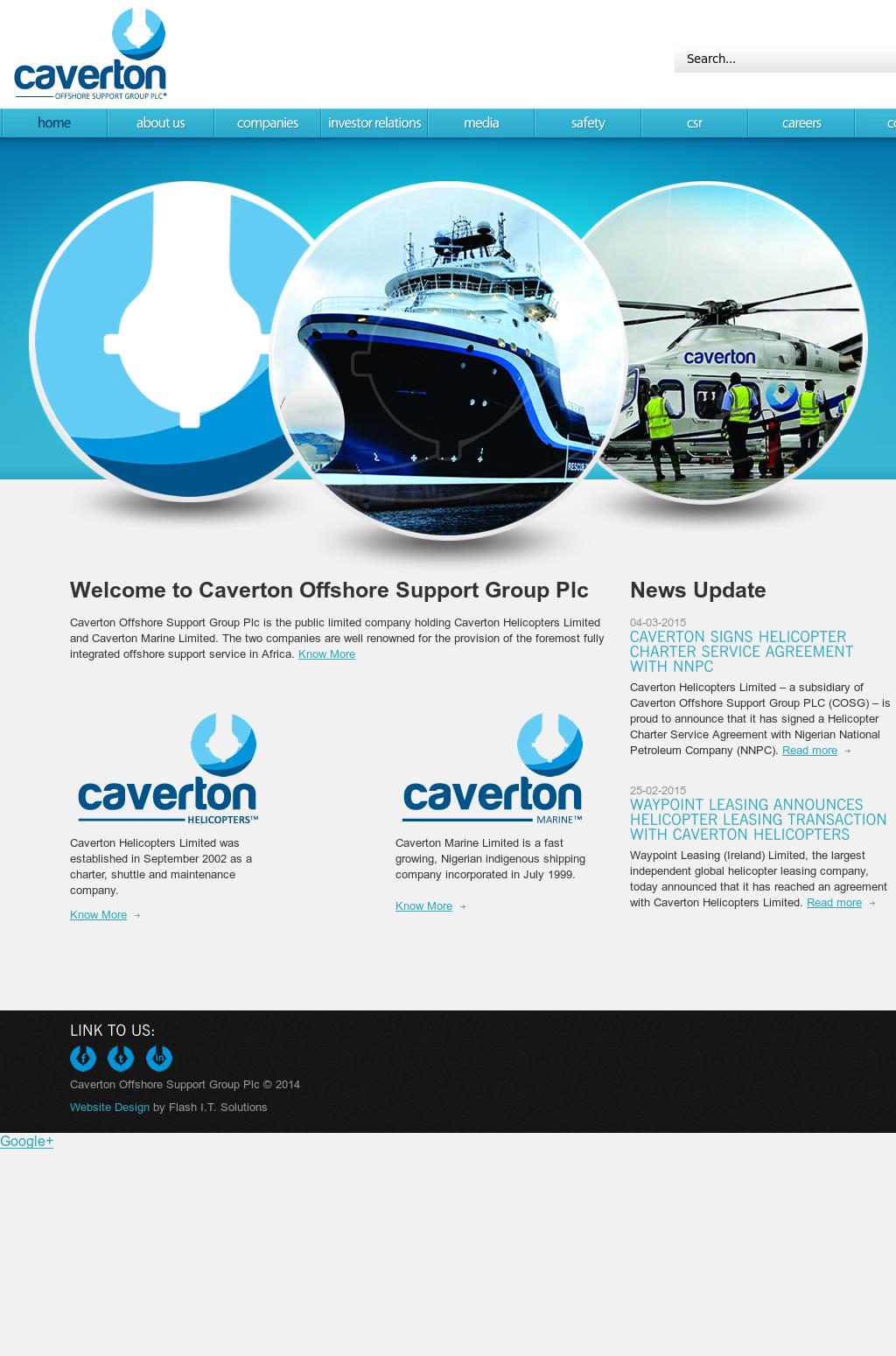 Caverton logo