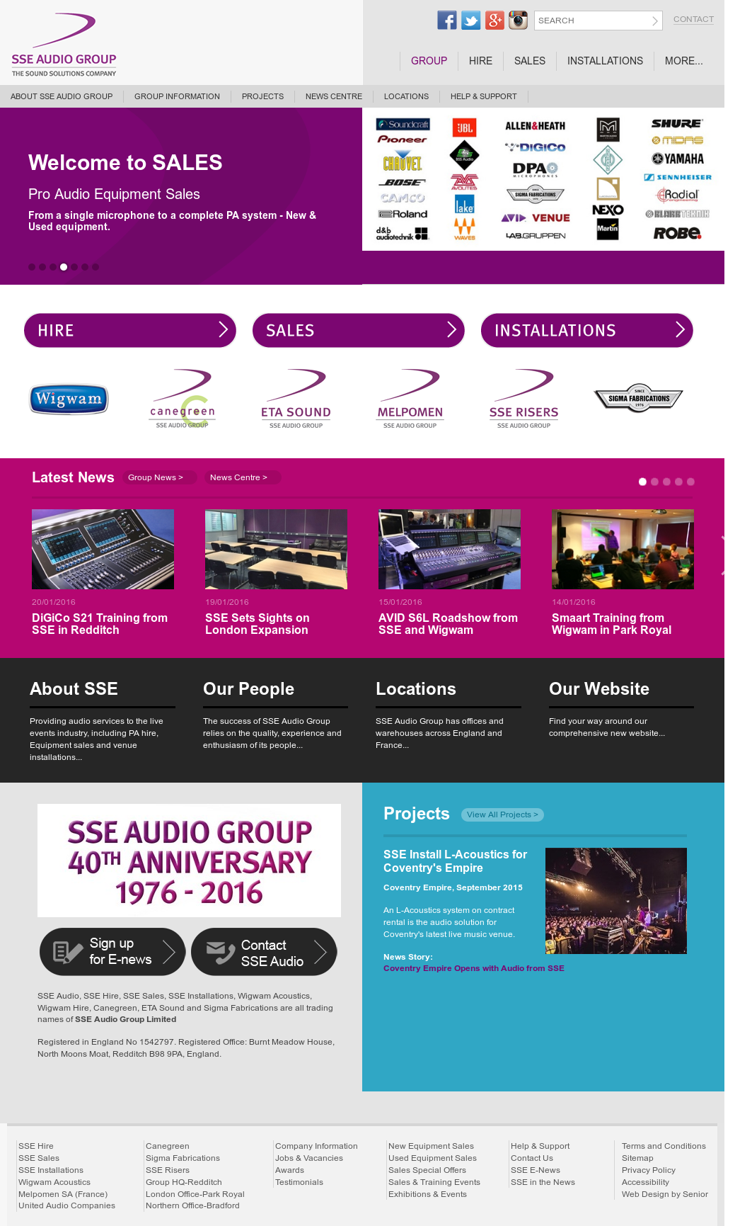 SSE Audio Group Competitors, Revenue and Employees - Owler