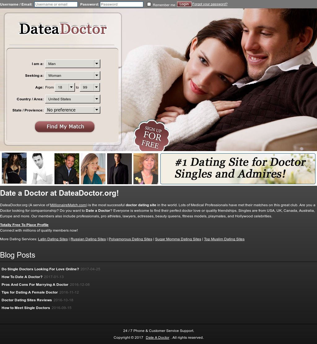 Doctor dating websites