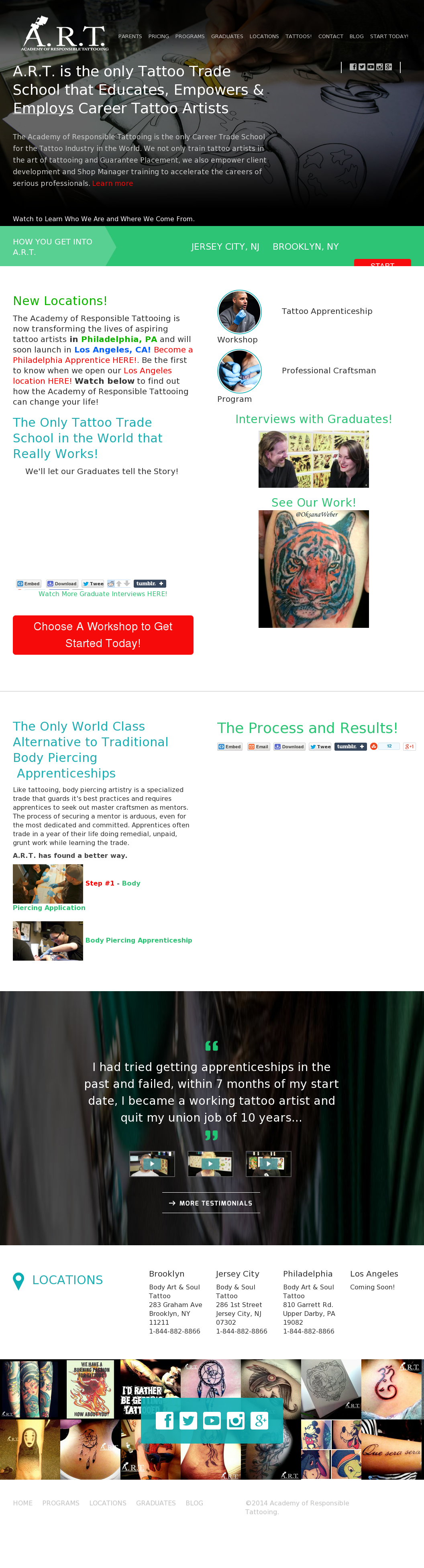 Academy Of Responsible Tattooing Competitors Revenue And Employees Owler Company Profile