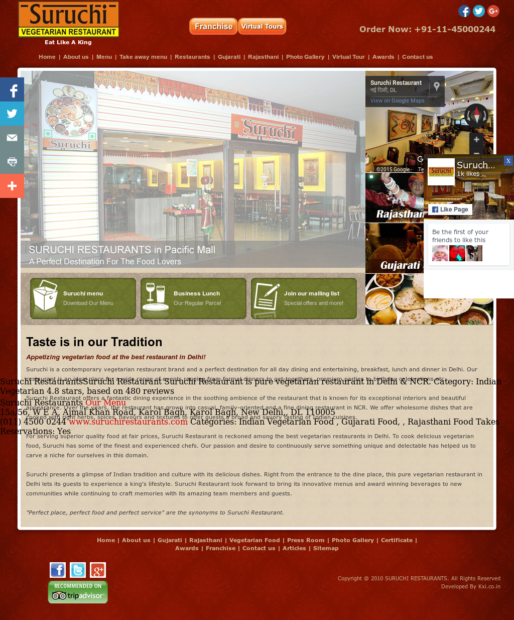 Suruchi Restaurants Competitors, Revenue and Employees - Owler