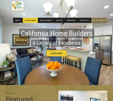 May 2017 Sep California Home Builders Website History