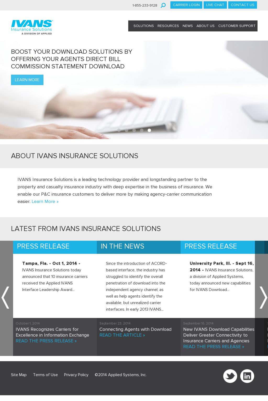 Owler Reports - IVANS Insurance Solutions: IVANS Releases