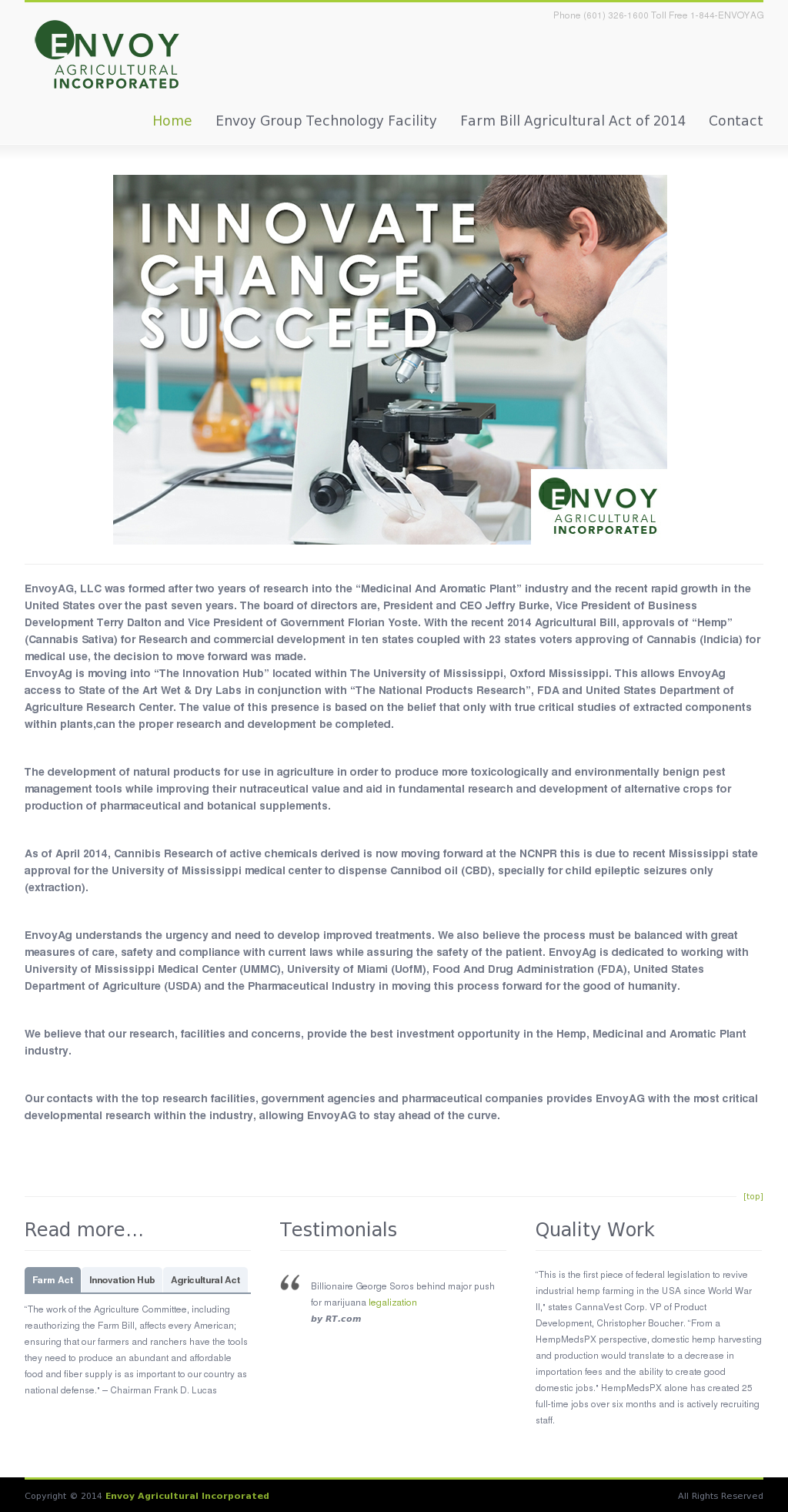 Envoy Agricultural Competitors, Revenue and Employees